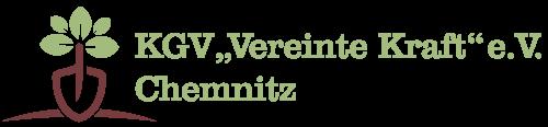 Kleingartenverein Vereinte Kraft Chemnitz Logo